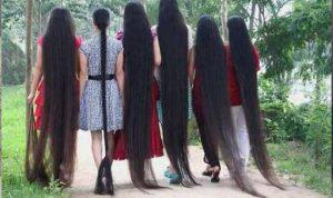 """بالفيديو… """"صاحبة أطول شعر في العالم"""""""