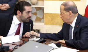 """الحكومة تنتظر استكمال """"الجوجلة"""" بين عون والحريري"""