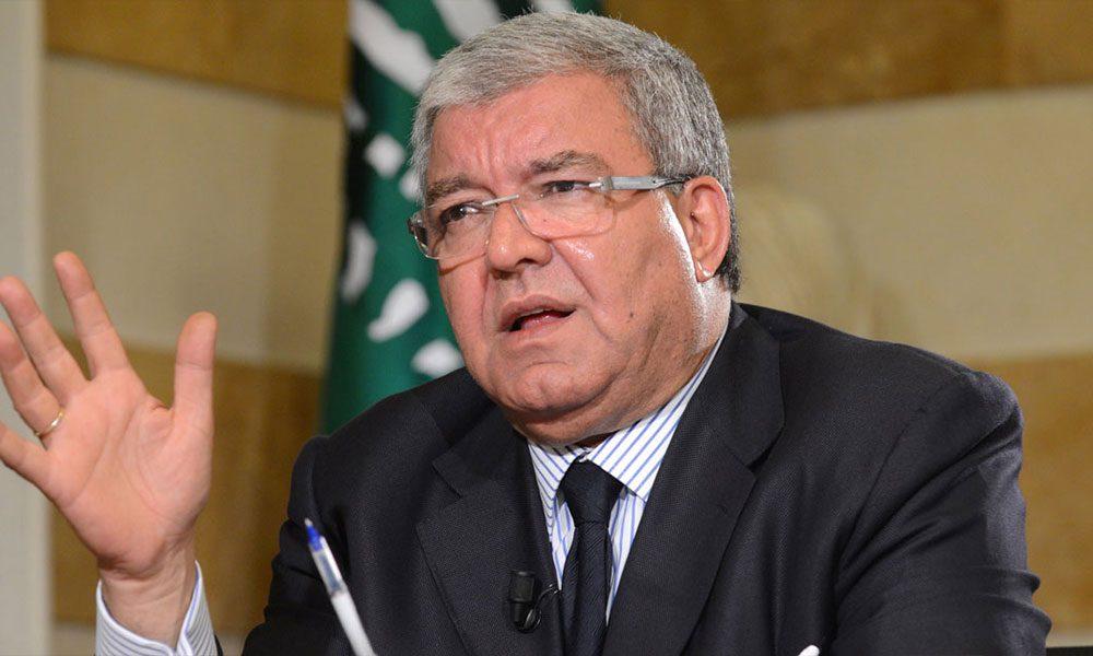 المشنوق: تحالفنا مع جنبلاط لن ينفك