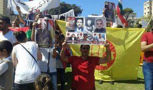 بالصور… شعارات ضد اردوغان في الصيفي!