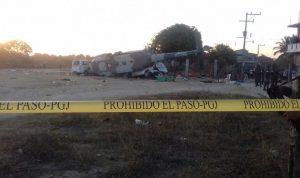 بالفيديو والصور…ما جديد تحطم طائرة وزير الداخلية المكسيكي؟