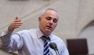"""وزير إسرائيلي """"محبط"""" بسبب موقف لبنان من ترسيم الحدود"""