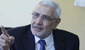 اعتقال المرشح الاسلامي ابو الفتوح