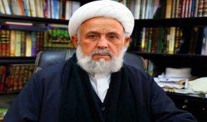 الشيخ علي الخطيب: نرفض كل مشاريع الفدرلة التي أطلت عبر الدعوات المشبوهة