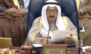 أمير الكويت: سنخصص مليار دولار لإعمار العراق