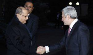 عون: الأرمن في لبنان ليسوا جالية