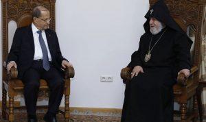 عون اختتم زيارته للعراق.. ويزور أرمينيا