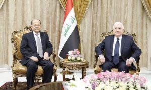 عون في بغداد: بداية حل لأزمة أموال اللبنانيين؟