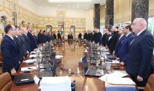 جلسة للحكومة في بعبدا… لبنان سيواجه أي إعتداء