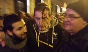 بالفيديو والصور… إصابات باحتجاجات في برشلونة