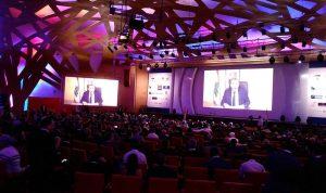 باسيل يبرّر ظهوره عبر الشاشة في مؤتمر أبيدجان