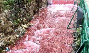 رئيس بلدية حزرتا يوضح سبب تلون مياه البردوني