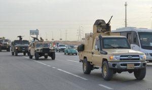 الجيش المصري يحبط تسلل إرهابيين عبر الحدود
