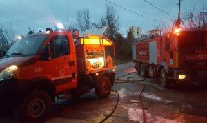 إخماد حريق داخل مبنى في العدرا – كسروان