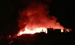 حريق في احراج بلدة الدورة العكارية واتهامات بافتعاله