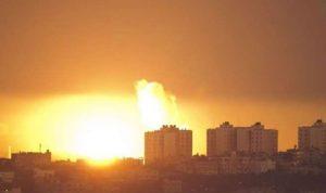 بالفيديو… غارات جديدة على غزة
