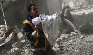 الصليب الأحمر يسعى للوصول إلى الغوطة!