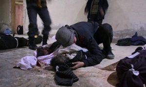 بالصور… الأسد يُبيد الغوطة الشرقية