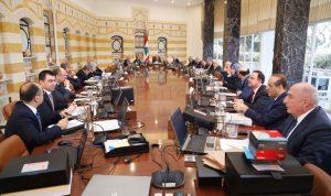 37 بنداً على جدول أعمال مجلس الوزراء