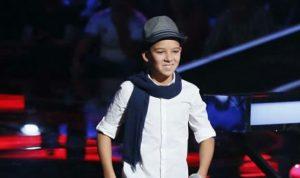 فوز المغربي حمزة لبيض في برنامج The Voice Kids
