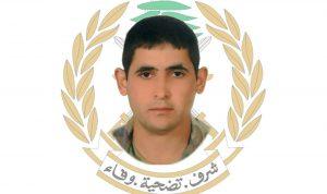 قيادة الجيش تنعي الجندي الشهيد خالد محمود خليل