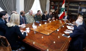 لاكروا: سنواصل دعم لبنان بكل ثبات واصرار