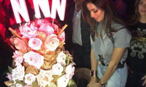بالفيديو والصور… هكذا احتفلت نادين نجيم بعيد ميلادها