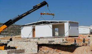 اسرائيل تقيم منازل بأول مستوطنة جديدة بالضفة