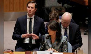 هايلي لعباّس: المفاوضون الأميركيون مستعدون للمحادثات