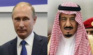 بوتين والملك سلمان يبحثان الوضع في سوريا