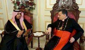 اليعقوب أكّد للراعي على متانة العلاقات بين لبنان والسعودية