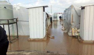 في عكار… تمزّق خيم النازحين السوريين