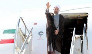 روحاني وصل إلى الهند