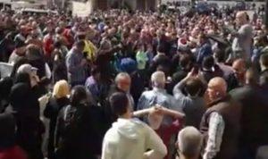اعتصام لأهالي المحكومين في أحداث عبرا