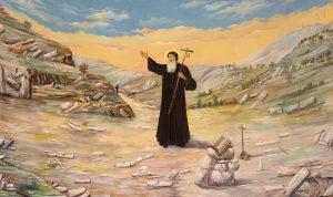 ذخائر القديس مارون الى بريزبن الاسترالية