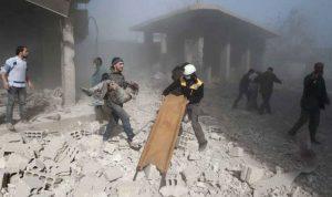 """بالفيديو والصور… """"جهنم"""" الأسد في الغوطة الشرقية"""