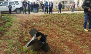 بالصورة… العثور على اجزاء من صاروخ في رياق