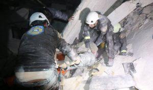 بالفيديو والصور… بوتين يقصف مستشفى في إدلب