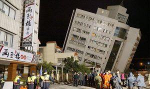بالفيديو والصور… زلزال عنيف يهز تايوان