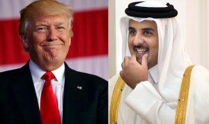 ترامب يدعو أمير قطر لزيارة أميركا