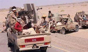 الجيش اليمني يقتحم مدينة حيس