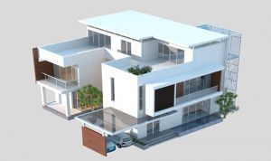 منزل… بطابعة ثلاثية الأبعاد