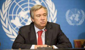 غوتيريش: لوقف فوري للأعمال القتالية بغزة وإسرائيل