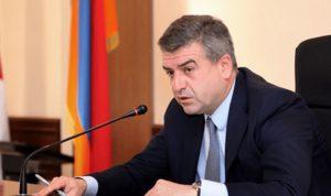 رئيس وزراء ارمينيا في بيروت الاثنين