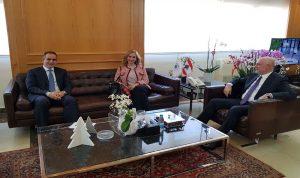 فنيانوس يلتقي سفيرة سويسرا للبحث في العلاقات الثنائية