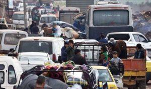 فرار الآلاف من عفرين مع اقتراب القوات التركية