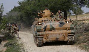 مقتل 18 عسكريا سوريا بقصف مسلحين في إدلب لمحافظة اللاذقية