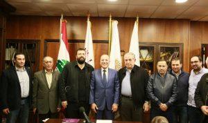 أحمد الحريري زار غرفة طرابلس