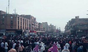 بالفيديو… إيران تقمع تظاهرة في الأهواز