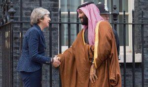 ماذا أهدت ماي الأمير محمد بن سلمان؟